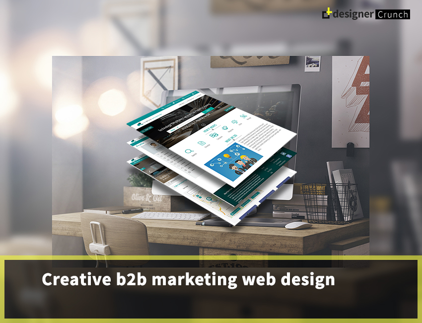 Creative B2B Marketing Web Design Inspiration 2018