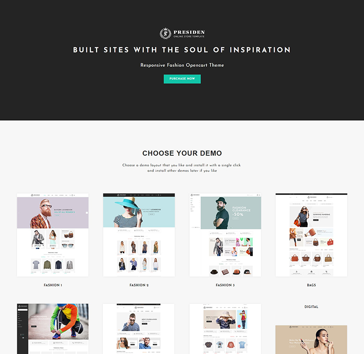 Top Opencart Minimalist clean theme of the year - Designer