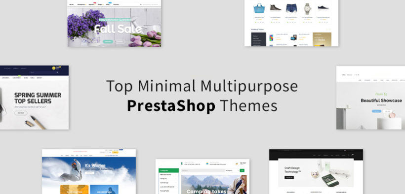 Highly Recommended Minimal Multipurpose Prestashop Themes