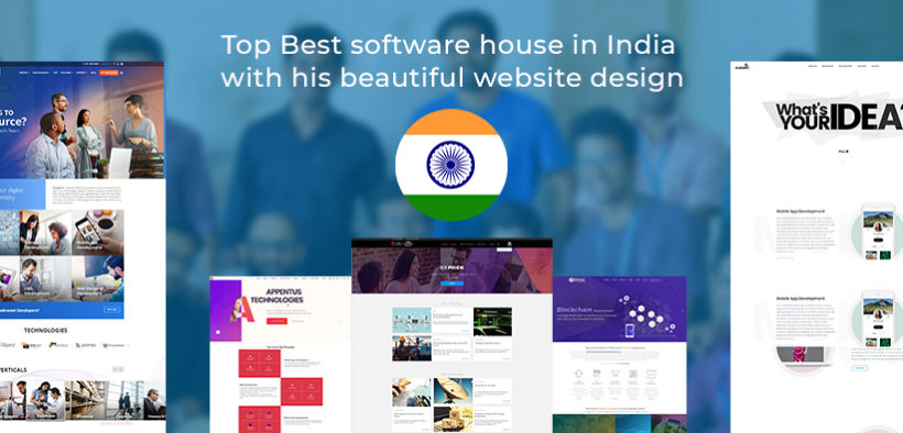 Top Best software house in India with his beautiful website design